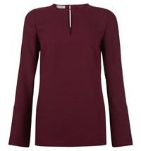 Hobbs Primrose Blouse Purple