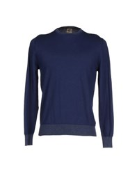 H953 Knitwear Jumpers Men Dark Blue