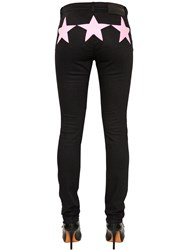 Givenchy Slim Fit Denim Jeans W Stars Inserts