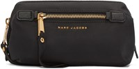Marc Jacobs Black Trooper Framed Big Bliz Cosmetic Case
