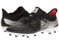 Adidas X 17.2 Fg Core Black Platinum Metallic Core Red Women's Soccer Shoes