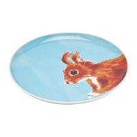 Joules Wild Thing Tea Plate Squirrel