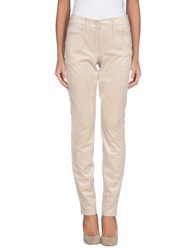 Cambio Trousers Casual Trousers Women Beige