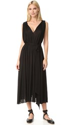 Barbara Bui V Neck Dress Black
