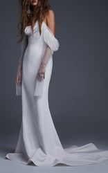 Vera Wang The Floriana Gown White