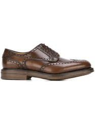 Salvatore Ferragamo Classic Brogues Brown