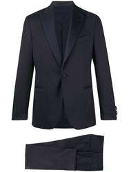 Dell'oglio Formal Two Piece Dinner Suit Blue