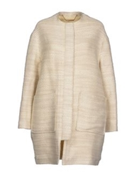 Sessun Coats Ivory