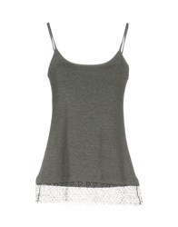 Just For You Tank Tops Grey