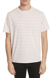 Ovadia And Sons 'S Stripe Crewneck T Shirt White Red