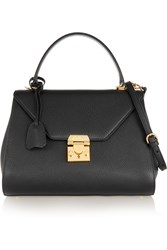 Mark Cross Hadley Small Textured Leather Tote