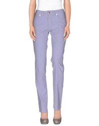 Barba Trousers Casual Trousers Women Lilac