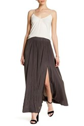 14Th And Union Maxi Skirt Petite Gray