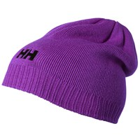 Helly Hansen Ribbed Logo Beanie One Size Purple