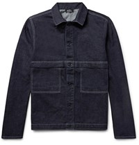 A.P.C. Carnac Denim Jacket Dark Denim