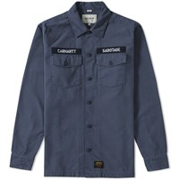 Carhartt Arrow Military Overshirt Blue