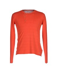 Gaudi' Knitwear Jumpers Men Coral