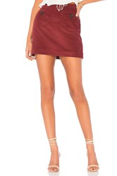 Clayton Quinn Skirt Burgundy