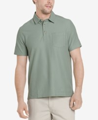 G.H. Bass And Co. Men's Terrain Super Cool Polo Agave Green