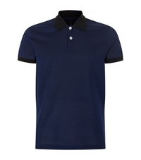 Versus By Versace Lion Head Polo Shirt Male Blue