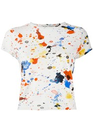 Alice Olivia T Shirt White