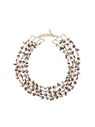 Ermanno Scervino Short Necklace Metallic
