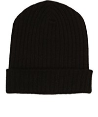 The Elder Statesman Men's Cashmere Summer Beanie Black