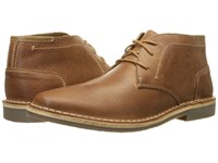 Steve Madden Helee Tan Leather Men's Lace Up Wing Tip Shoes
