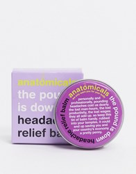 Anatomicals The Pound Is Down Headache Relief Balm No Color