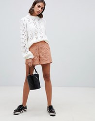 Minimum Moves By High Waisted Shorts Pink