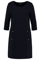 Taifun Jersey Dress Marine Dark Blue