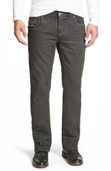 Men's Rock Revival 'Penn' Straight Leg Jeans Charcoal