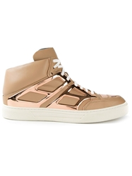 Alejandro Ingelmo 'Tron' Hi Top Sneakers Nude And Neutrals