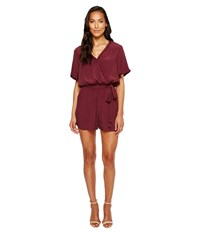 Lucky Brand Anaelisa Romper Fig Women's Jumpsuit And Rompers One Piece Brown