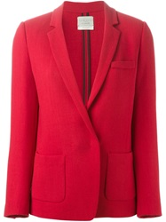 Forte Forte Blazer Jacket Red