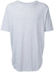 Monkey Time Textured T Shirt Men Cotton S Grey