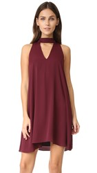 Amanda Uprichard Garland Dress Wine