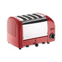 Dualit Classic Toaster Red 4 Slot