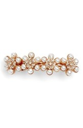 Tasha Faux Pearl And Crystal Barrette