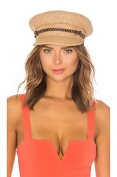 Brixton Kayla Straw Hat Tan