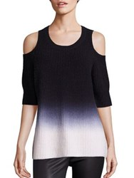 Zoe Jordan Dias Ombre Cashmere And Wool Sweater
