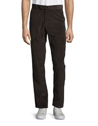 Black Brown Corduroy Pants Dark Taupe