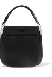 Prada Margit Small Leather Tote Black