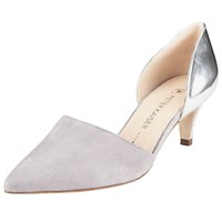 Peter Kaiser Cornelia Two Part Court Shoes Silver