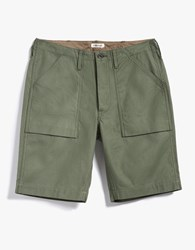 The Hill Side Fatigue Shorts Olive Drab