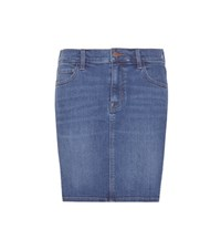 J Brand Rosie Denim Skirt Blue