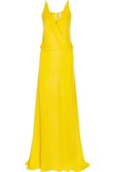 Mason By Michelle Mason Washed Silk Georgette Gown