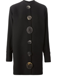 J.W.Anderson J.W. Anderson Large Button Shirt Dress Black