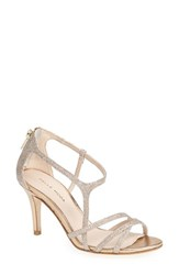 Women's Pelle Moda 'Ruby' Strappy Sandal Platinum Gold