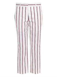 Etoile Isabel Marant Jacob Striped Cropped Trousers